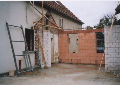Bauphase 1 Zwischenbau